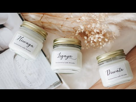 DIY Scented Candles | Perfect for gift or business