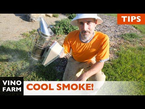 Secret Tip For Cool Smoke! (How I Light My Beehive Smoker)