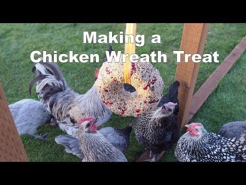 Chicken Wreath Treat
