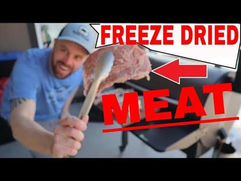 🥩FREEZE DRIED MEAT🥩Steak, Pork Chops, Chicken, Shrimp, Bacon, Hamburger, Turkey, Hot Dogs