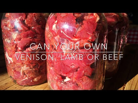 Canning Meat (Super Easy Raw Pack)