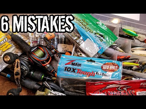 6 Beginner Fishing Mistakes (You Don't Realize You're Making)