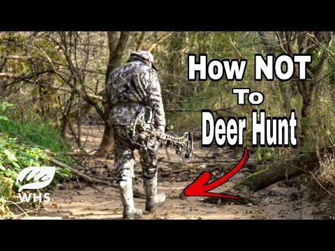 Top 10 Deer Hunting Mistakes