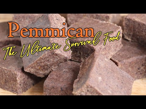 Making Pemmican - The Ultimate Survival Food