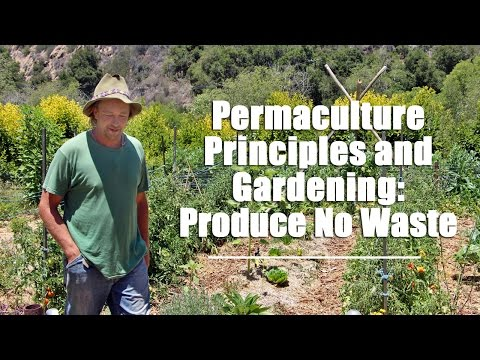 Permaculture Principles and Gardening: Produce No Waste