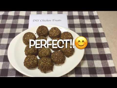 DIY Chicken Treats