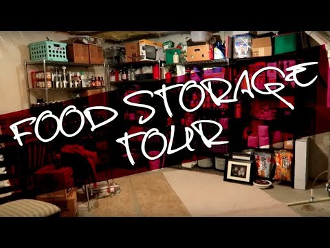 Massive Food Stockpile Tour!!