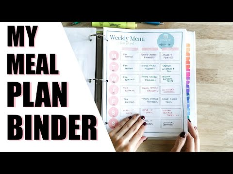 How I Create My Weekly Meal Plans
