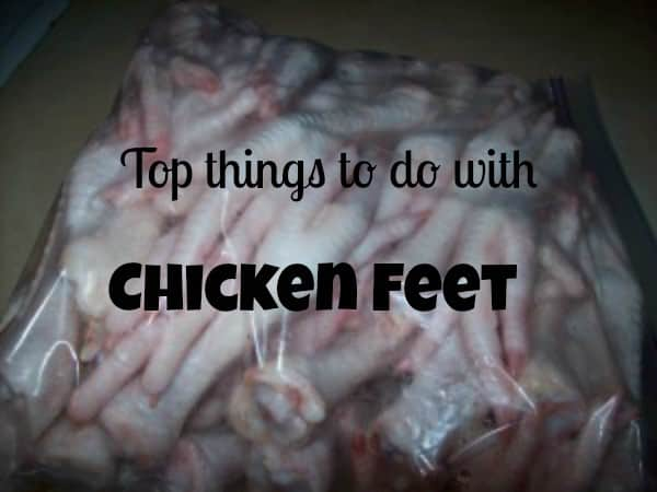 top things to do with chicken feet