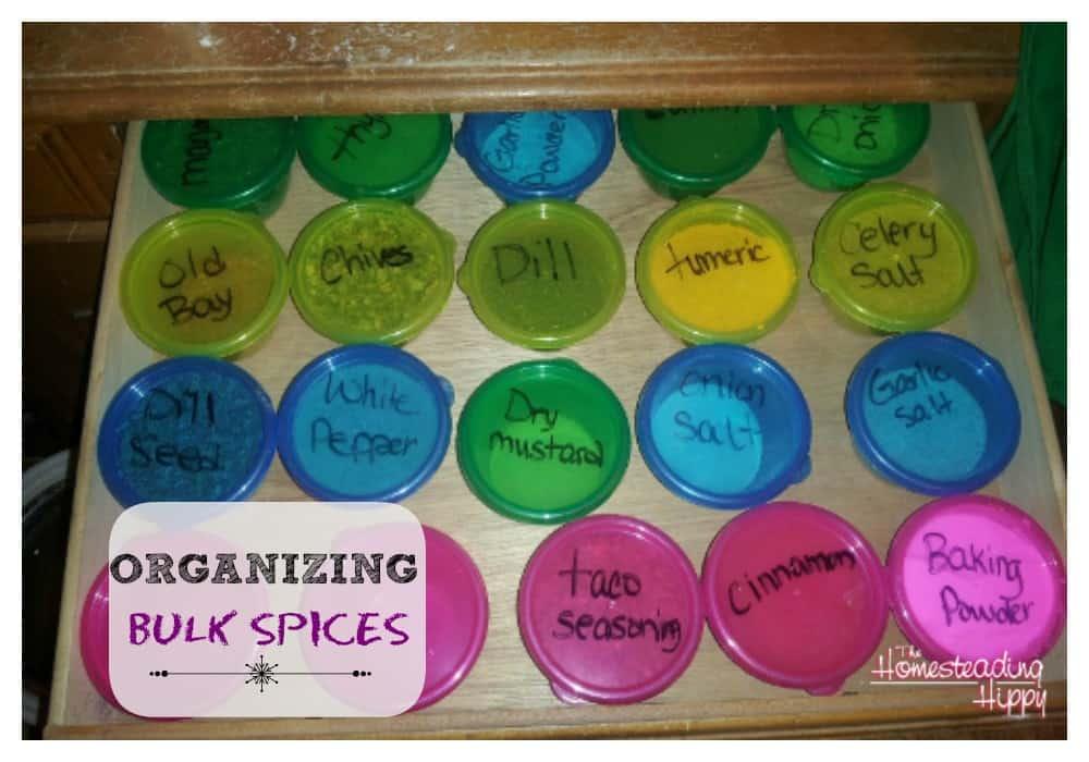 How to Organize Bulk Spices