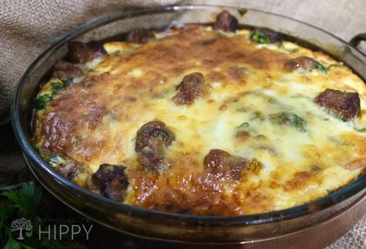 Sausage Frittata