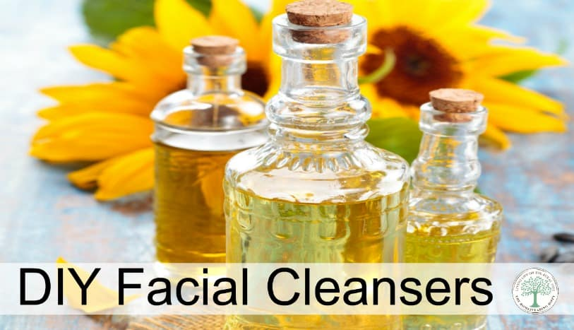 Homemade facial cleanser for soft, smooth, supple skin! The Homesteading Hippy