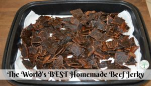 How to make the world's best homemade beef jerky! The Homesteading Hippy