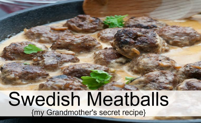 Comfort food straight from my Grandmother's recipe box...Swedish meatballs! The Homesteading Hippy