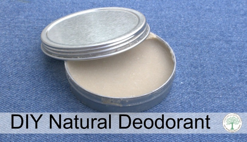 Don't sweat it! Make your own deodorant and stop the stinky funk naturally! The Homesteading Hippy