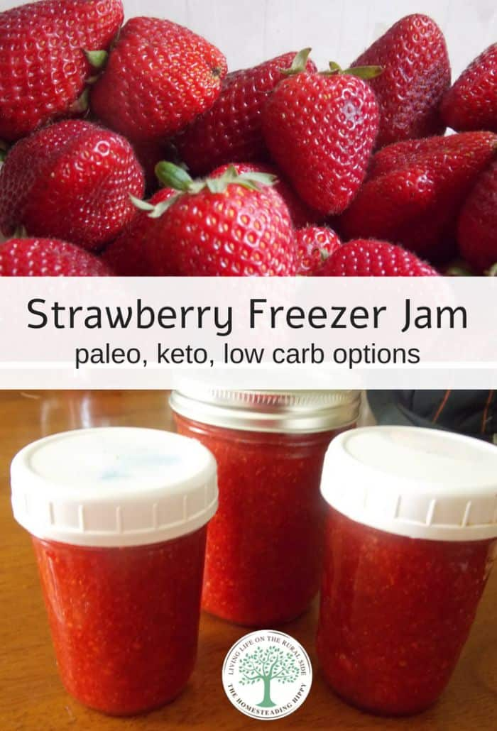 Strawberry Freezer Jam pin