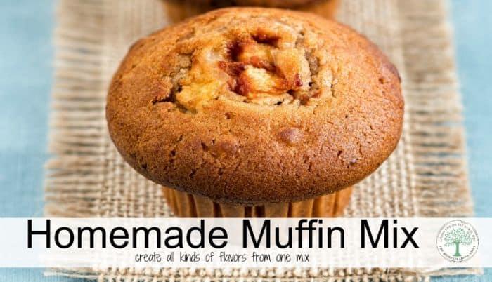 homemade muffin post