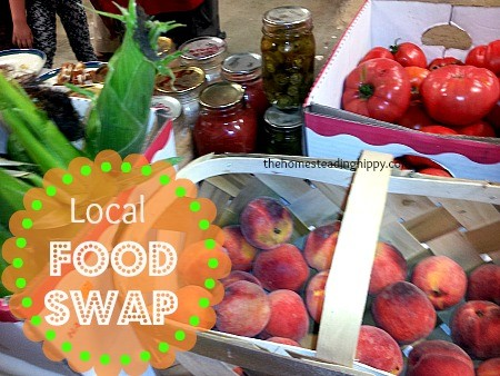 here's a basic run down of what we did, and how a food swap works. The Homesteading HIppy