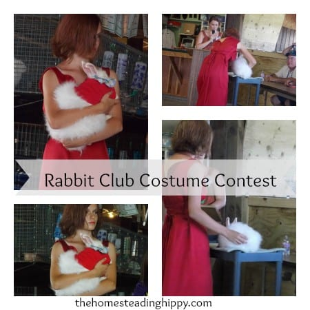 Rabbit Club Costume Contest