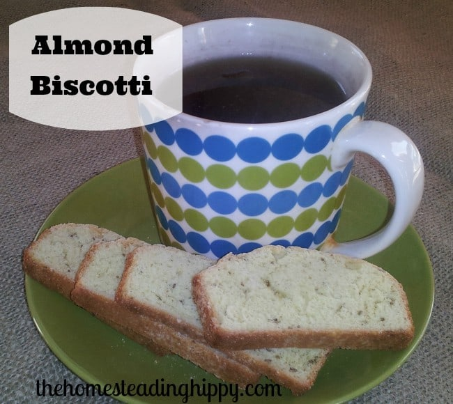 almond biscotti perfect for an afternoon snack or tea