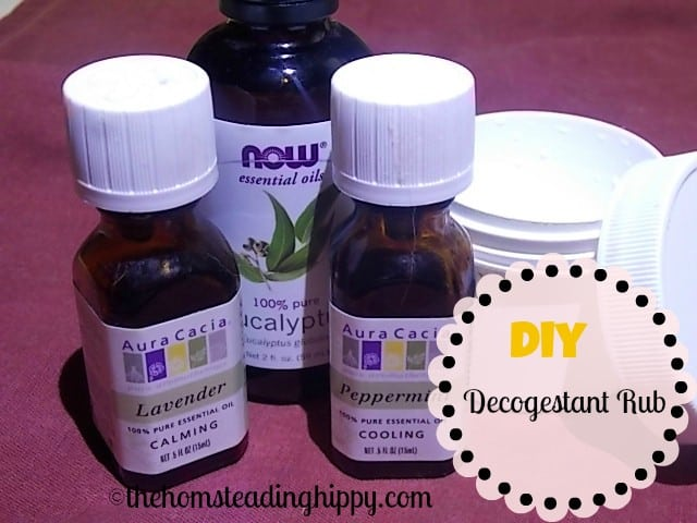 make your own vapor rub at home with no chemicals, and only 6 all natural ingredients