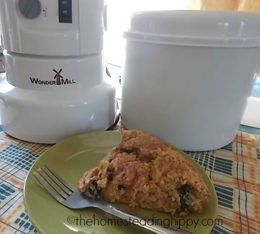 Blueberry Scones- Grain Wagon Challenge