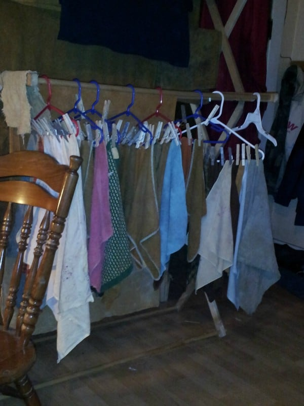 How To Hang Up Clothes Inside To Dry The Homesteadinghippy