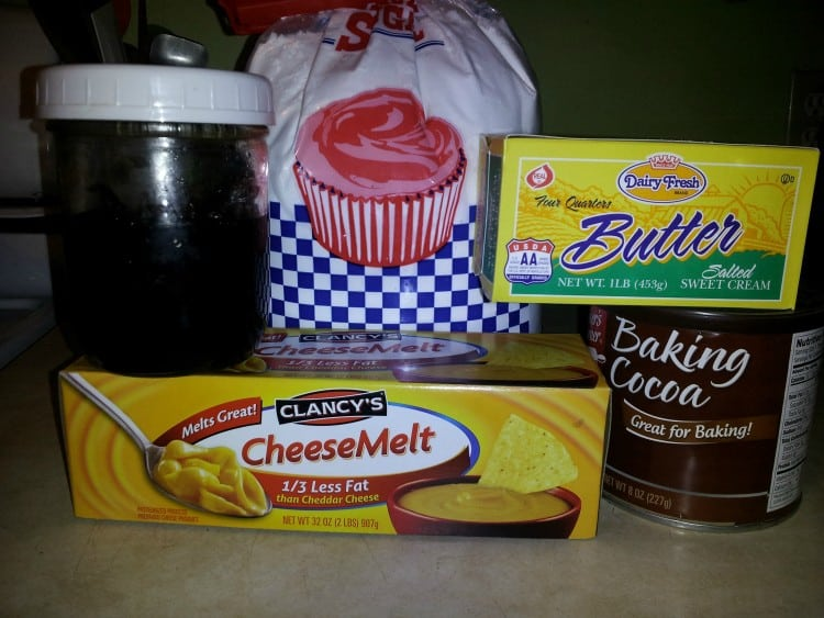 ingredients-for-velveeta-cheese-fudge