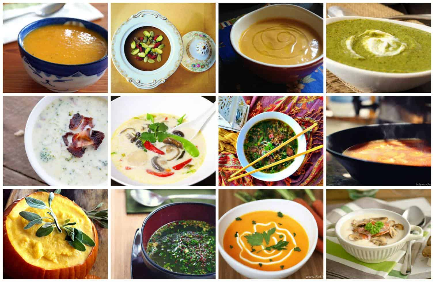 Community Cookbook Winter Soups