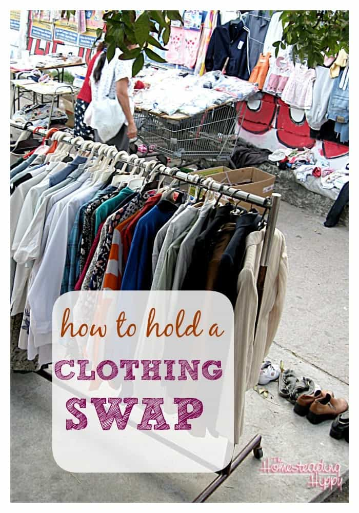 How To Hold a Clothing Swap