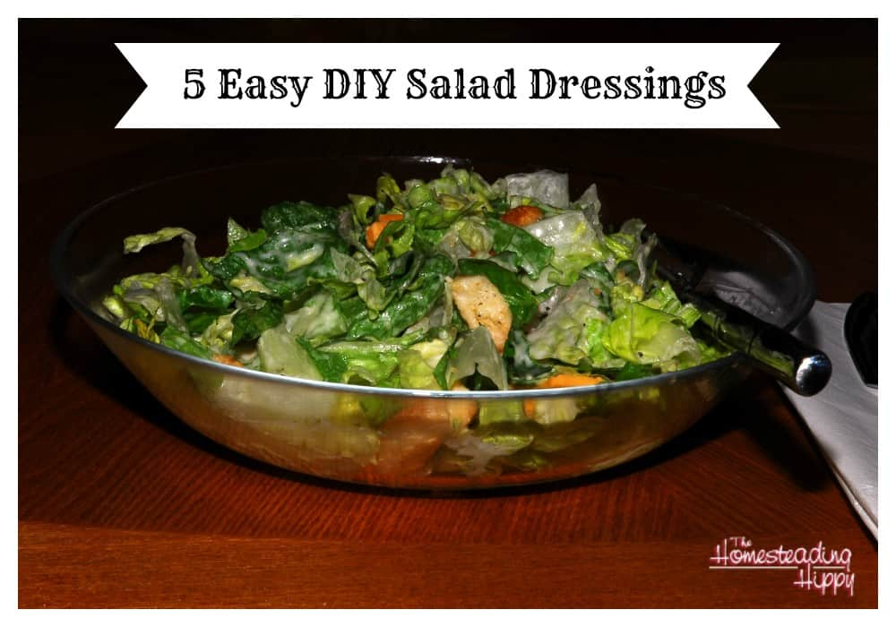 5 easy diy salad dressings