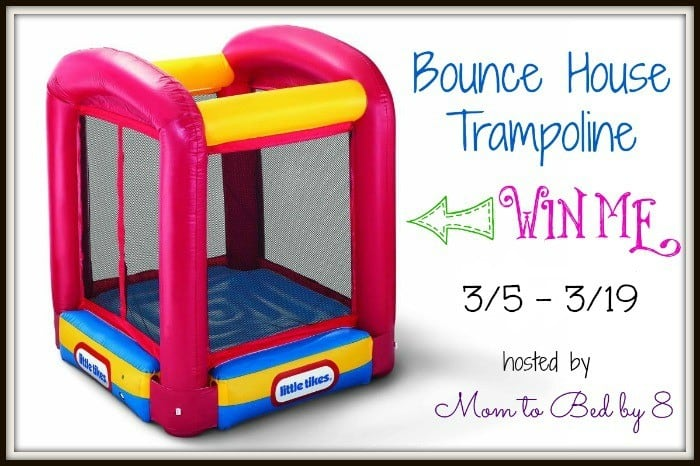 Bounce House Trampoline Giveaway