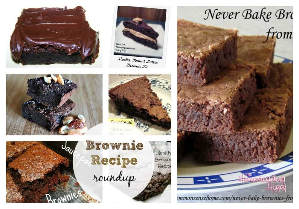 brownie recipes from old fashioned to #glutenfree, #grainfree, #raw and #vegan