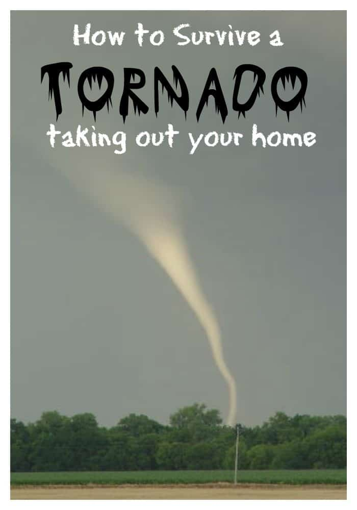 TORNADO taking out your home~theHomesteadingHippy