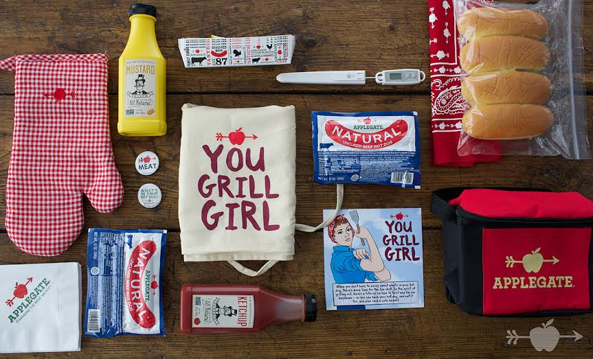 """""""You Grill, Girl"""" with Applegate"""