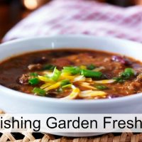 Nourishing Garden Fresh Chili