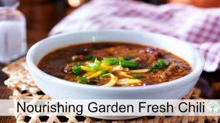Nourishing Garden Fresh Chili