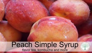 peach syrup post