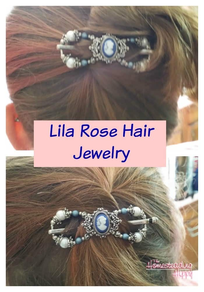Lila Rose Hair Jewelry-perfect for daytime and night time looks~The HomesteadingHippy