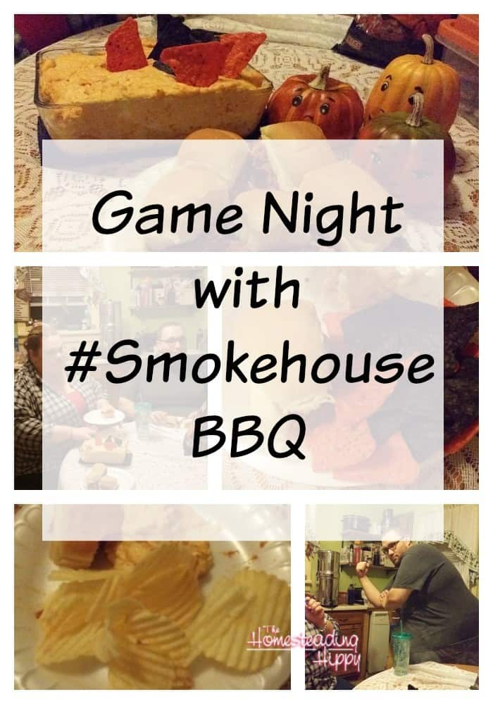 Game Night with #SmokehouseBBQ