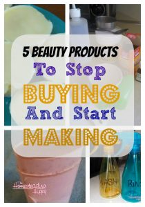 5 beauty products to stop buying and start making