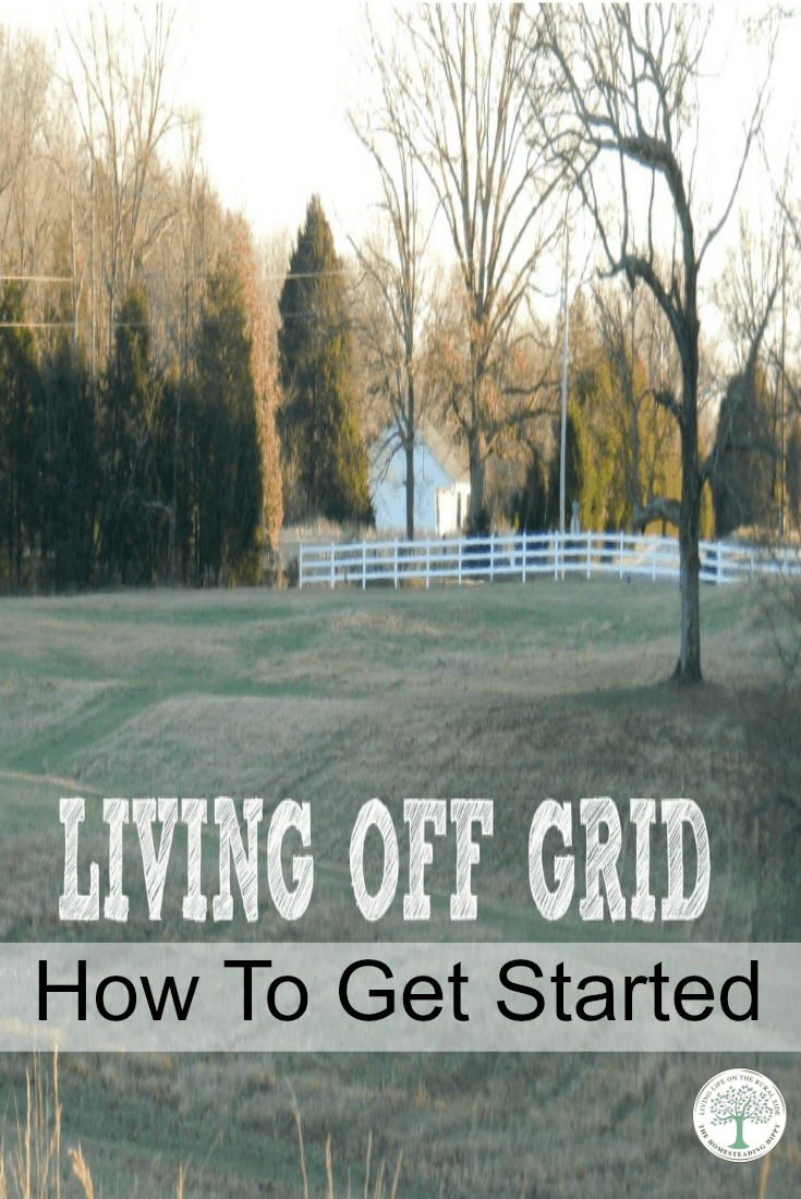 Ideas, tips and suggestions for How To Get Started Living Off Grid. One family's story of how they started and what they learned. The Homesteading Hippy