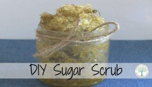 sugar scrub post