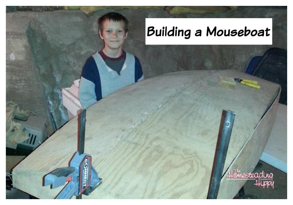 The Building of a Mouseboat