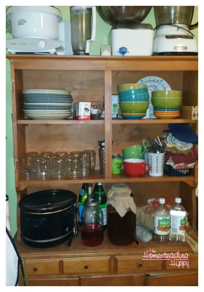 Welcome to my kitchen!  I am so glad to be able to share part of my daily life with you this way! The Homesteading Hippy #homesteadhippy #fromthefarm #frugallife #prepared #mykitchen