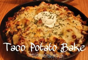 taco potato bake post