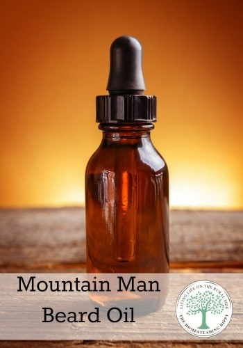 Got a mountain man with a full beard and/or moustache? Try this beard oil to soften and tame the hair that can so often be unruly~The Homesteading Hippy #homesteadhippy #fromthefarm #essentailoil #beardoil
