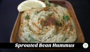 How to Make Sprouted Bean Hummus