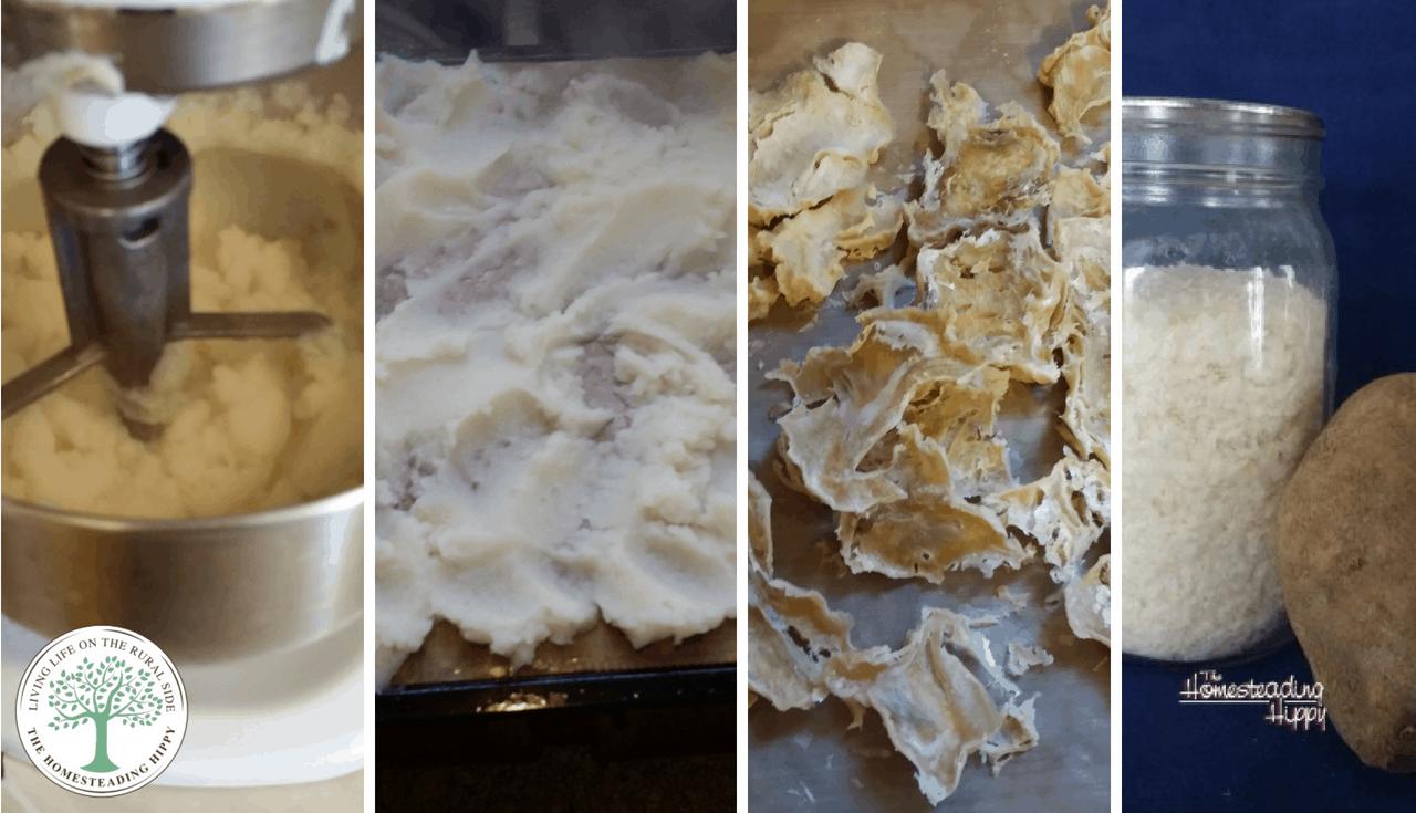 dehydrated mashed potato flakes instant potato flakes