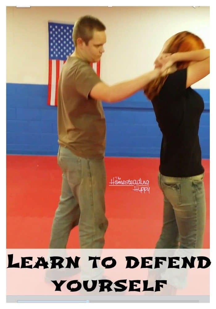 learn to defend yourself